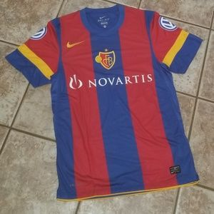 Authentic NIKE  FC Basel Soccer Jersey.